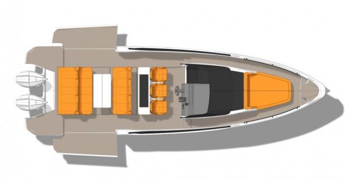 Rental Motorboat in Parikia -  Saxdor 320 GTO