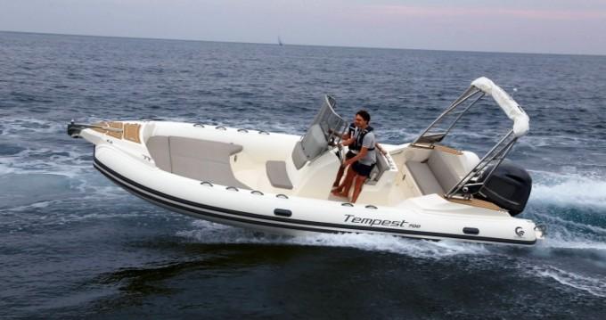 Boat rental Ibiza Island cheap Tempest 700