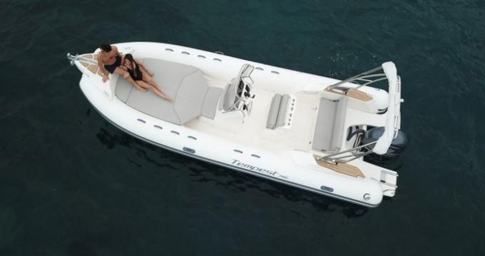 Boat rental Capelli Tempest 700 in Ibiza Island on Samboat