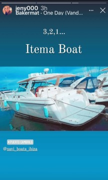 Rental Motorboat Tiara with a permit