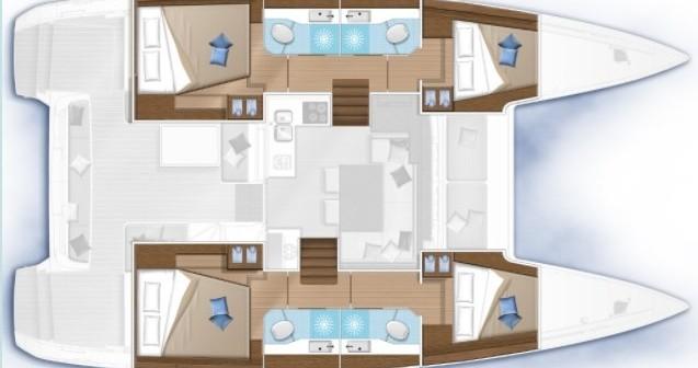 Boat rental Fethiye cheap Lagoon 40