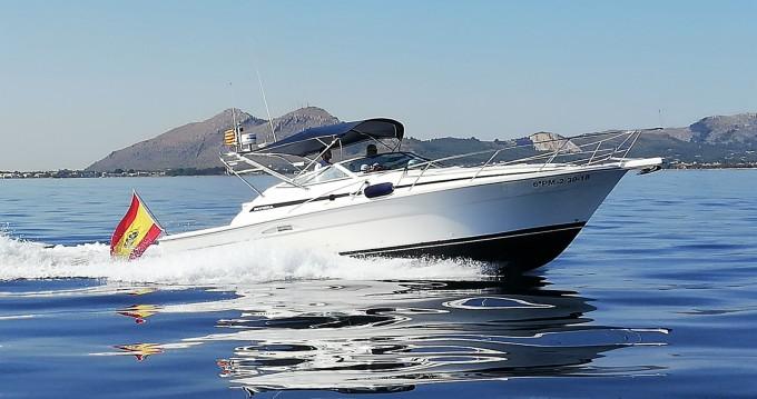 Rent a Riviera 3000 offshore Puerto de Pollensa