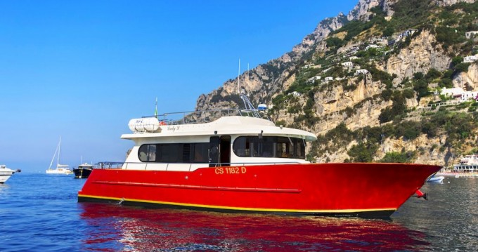 Hire Motorboat with or without skipper Foschi Positano