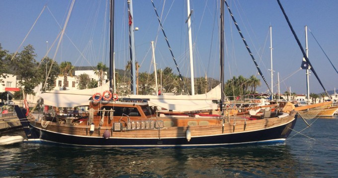 Rental Sailboat in Bodrum - Custom Made Tirhandil