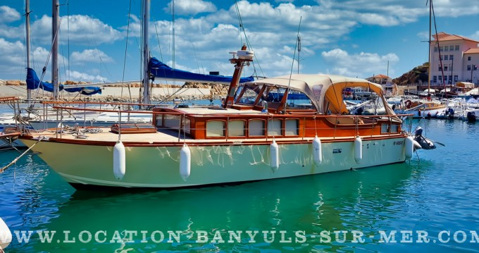 Hire Motorboat with or without skipper Arcoa Banyuls-sur-Mer