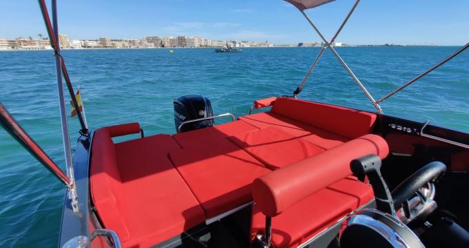 Boat rental Nuva Nuva M6 Open in Santa Pola on Samboat