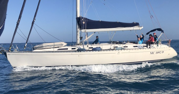 Dufour Dufour 50 between personal and professional Castiglioncello