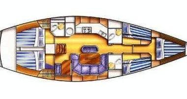 Boat rental Castiglioncello cheap Dufour 50