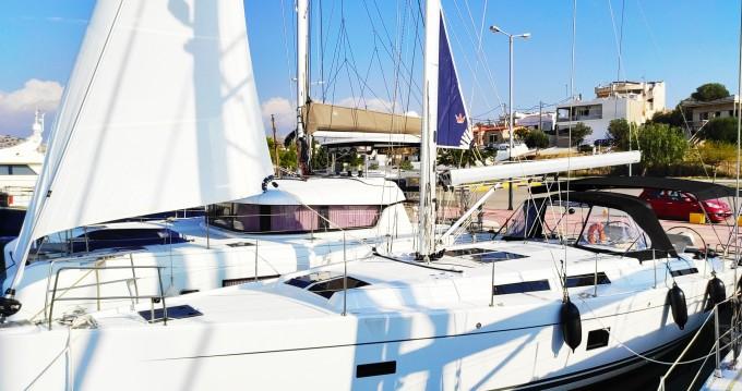 Boat rental Gouvia cheap Hanse 458