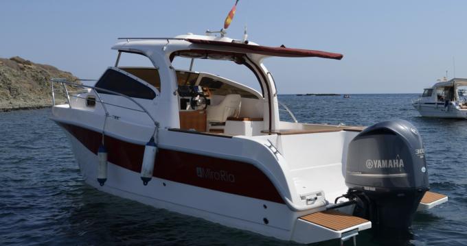Rental Motorboat in Alicante - Mira Ria 800 Sport