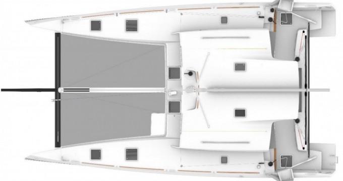 Rental Catamaran in Le Marin - Marsaudon Composites TS 42