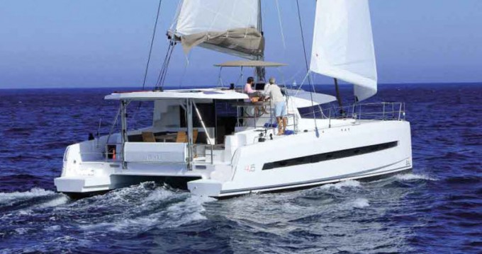 Catamaran for rent Talamona at the best price