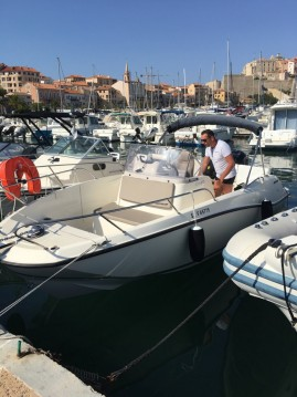 Hire Motorboat with or without skipper Quicksilver Sari-Solenzara