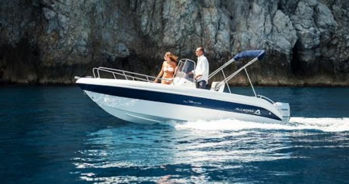 Boat rental Allegra Boats All 19 Open in Salerno on Samboat