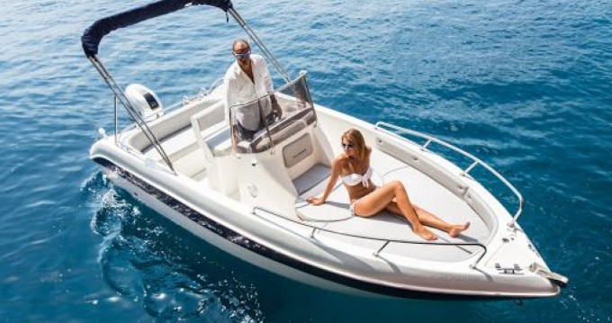 Hire Motorboat with or without skipper Allegra Boats Salerno
