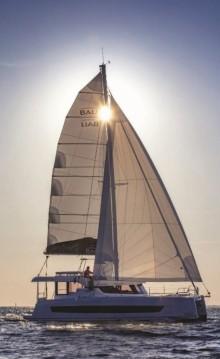 Rental Catamaran in Ibiza Island - Bali Catamarans Bali Catspace MY