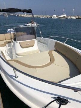 Boat rental Salerno cheap all 21 open