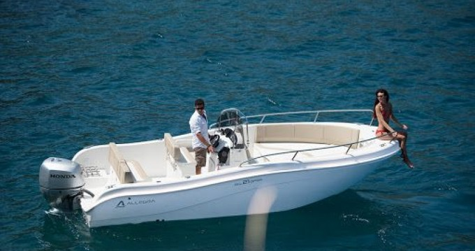 Rent a Allegra Boats all 21 open Salerno