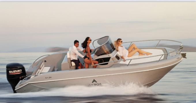Rental yacht Ibiza Island - ayros XA 24 on SamBoat
