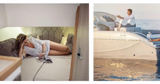 Boat rental ayros XA 24 in Ibiza Island on Samboat