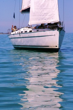 Bénéteau Cyclades 43.4 between personal and professional La Rochelle