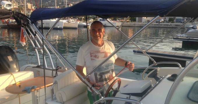 Hire RIB with or without skipper Capelli Lávrio