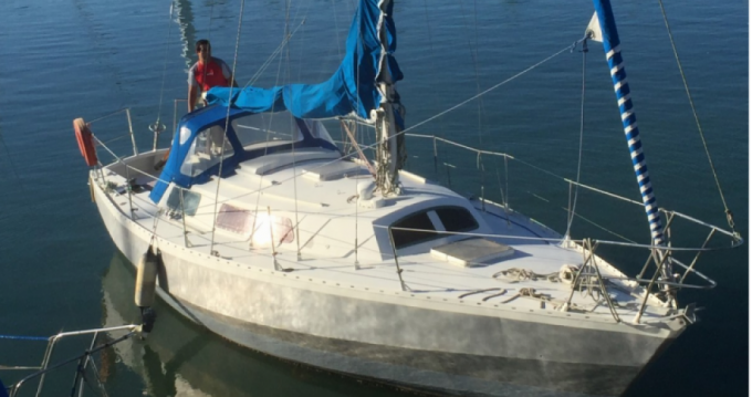 Alubat Ovni 31 between personal and professional Les Sables-d'Olonne