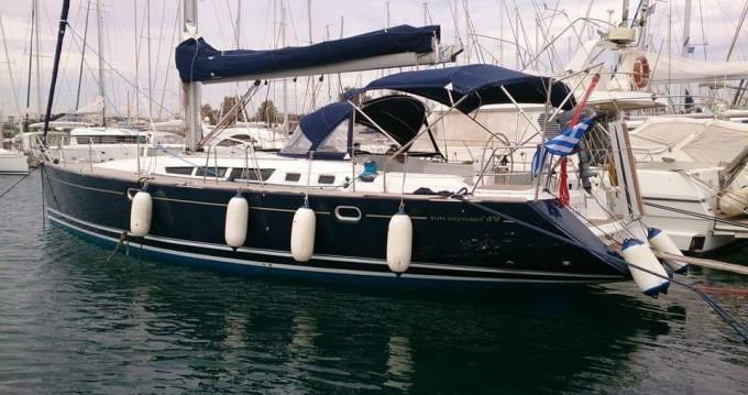 Rental yacht Piraeus - Jeanneau Sun Odyssey 49 on SamBoat