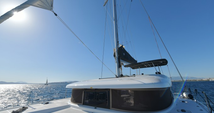 Hire Catamaran with or without skipper Lagoon Piraeus
