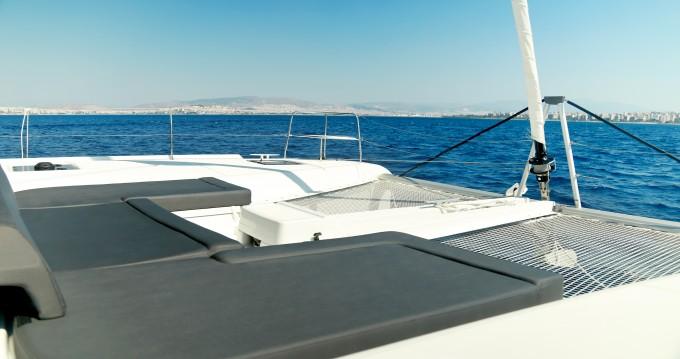 Boat rental Piraeus cheap Lagoon 46