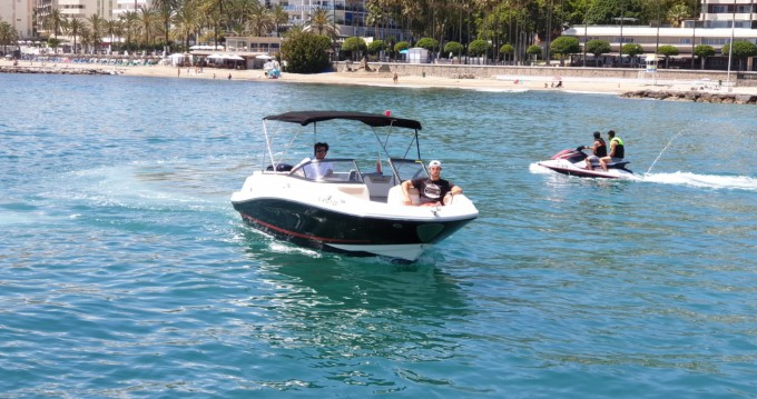 Hire Motorboat with or without skipper Bayliner Puerto Deportivo de Marbella