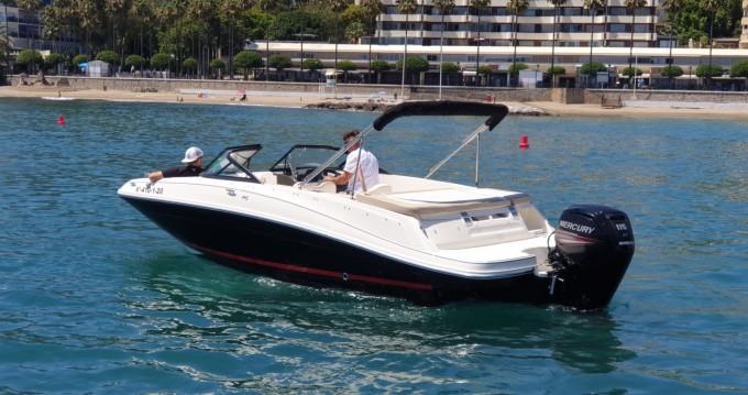 Rental Motorboat in Puerto Deportivo de Marbella - Bayliner VR5