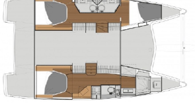 Rental Catamaran in Alimos - Fountaine Pajot Lucia 40