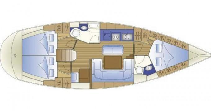 Boat rental Rhodes cheap Bavaria 40 Cruiser