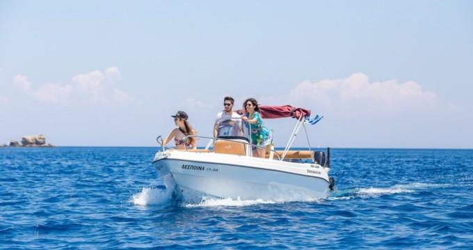 Rental Motorboat in Rhodes - Karel Paxos 170