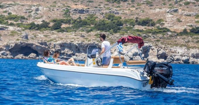 Rental yacht Rhodes - Karel Paxos 170 on SamBoat