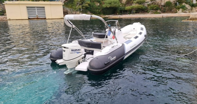 Ranieri Cayman 19 S between personal and professional Villefranche-sur-Mer