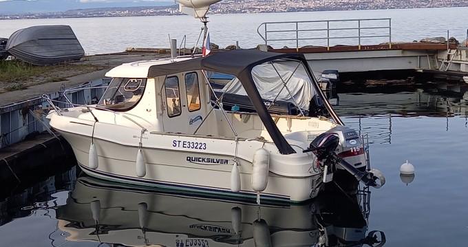 Rental yacht Évian-les-Bains - Quicksilver Quicksilver 640 Pilothouse on SamBoat