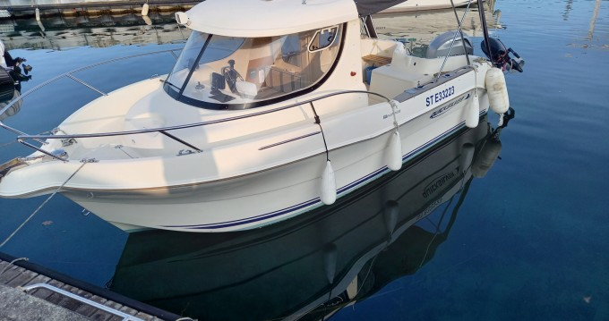 Hire Motorboat with or without skipper Quicksilver Évian-les-Bains