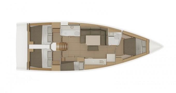 Rental yacht Biograd na Moru - Dufour Dufour 430 Grand Large on SamBoat