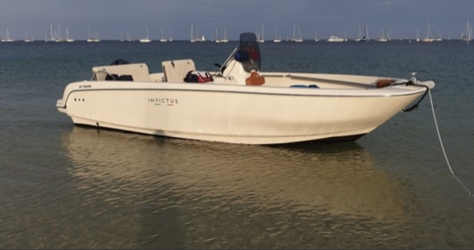 Boat rental Vannes cheap Invictus 190 FX
