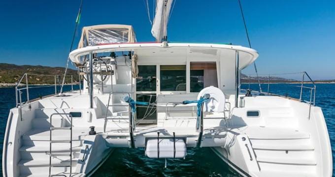 Catamaran for rent Puerto Deportivo Marina Isla Canela at the best price