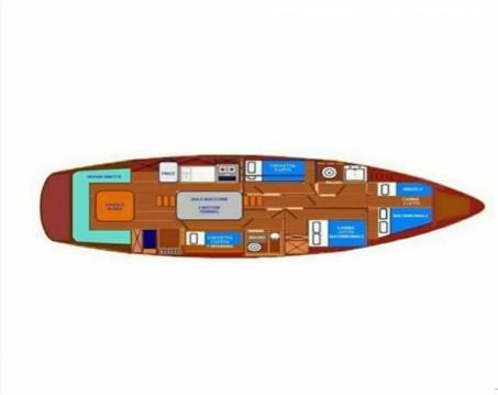 Hire Sailboat with or without skipper Etudes de Carènes Lipari (Île)