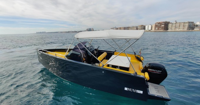 Rental Motorboat in Torrevieja - Nuva Nuva M6 Open