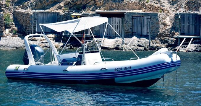 Hire RIB with or without skipper Zodiac Santa Eulària des Riu
