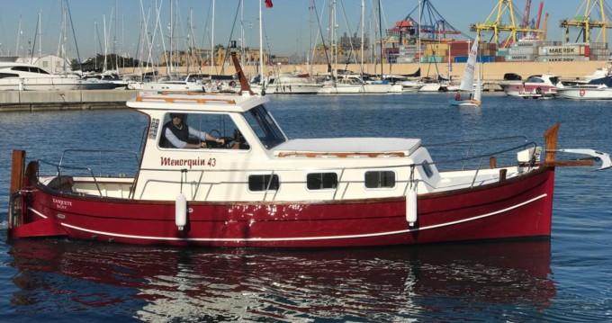 Boat rental Formentera cheap Capeador 43