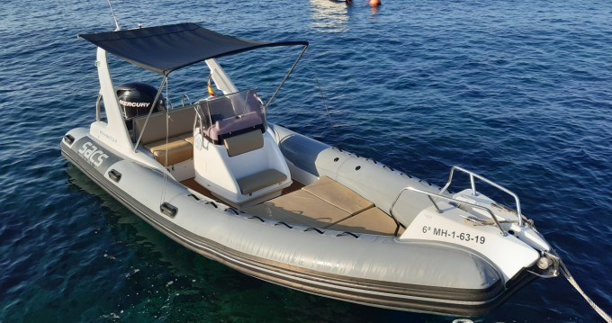 RIB for rent Mahon Port at the best price