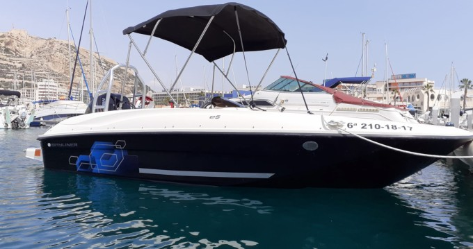 Hire Motorboat with or without skipper Bayliner Alicante