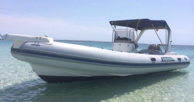 Hire RIB with or without skipper Capelli Santa Eulària des Riu