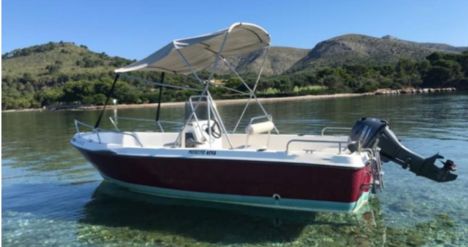 Hire Motorboat with or without skipper goldenfin Port d'Alcudia